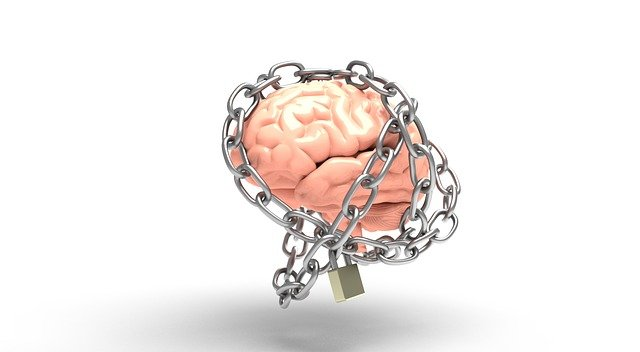 brain being chained up