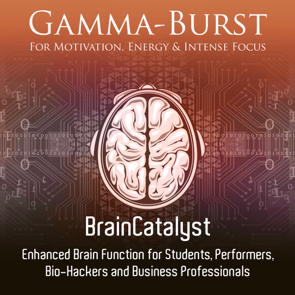 Gamma-Burst Brain Catalyst