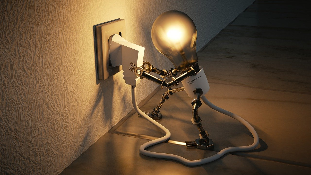 light bulb connecting