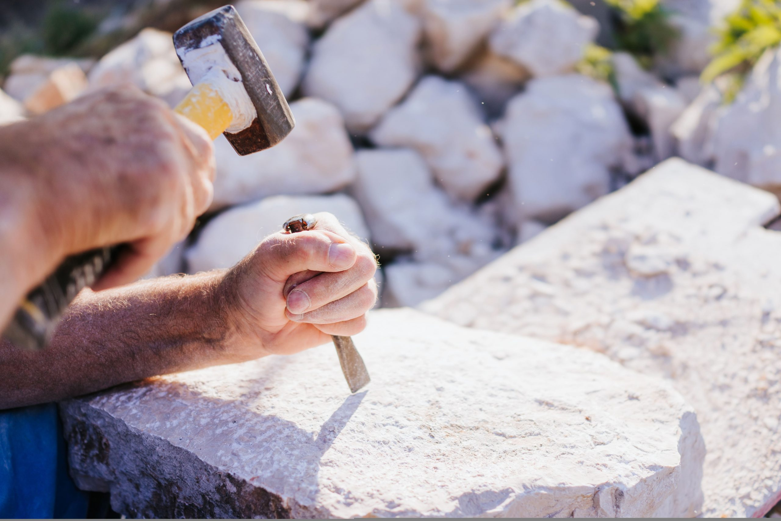 stone carving