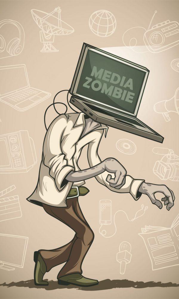 media zombie